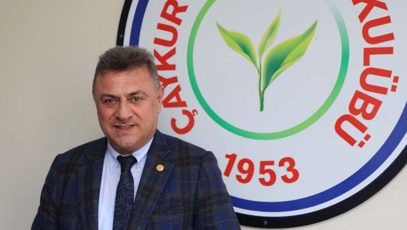 Çaykur Rizespor Başkanı Hasan Kartal: Alacağımız vardı, aldık. Allah'ın sopası yok