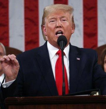 """ABD Başkanı Donald Trump, """"Almanya NATO katkı payını ödemedikçe oradaki ABD'li askerlerin sayısını düşüreceğim"""" ifadelerini kullandı."""