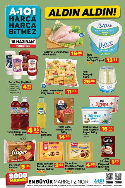 A101 18 Haziran Aktüel ürünler kataloğu satışta! A101'de bu hafta indirimli neler var?