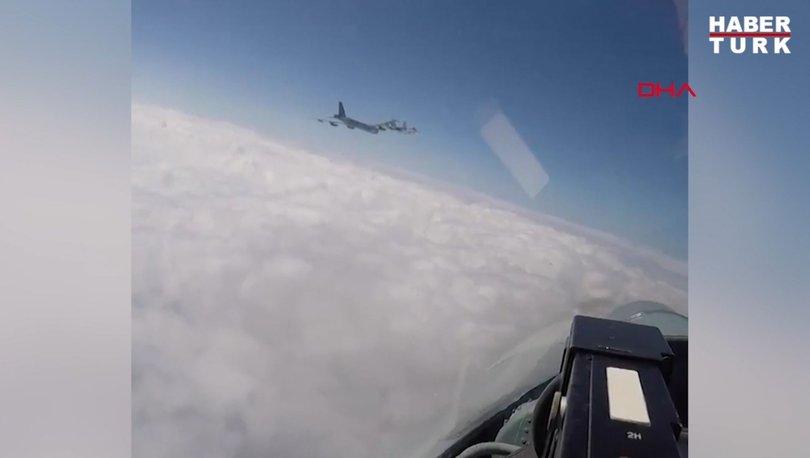 ABD bombardıman uçağı Rus jetleri tarafından Baltık Denizi'nde böyle engellendi - Haberler