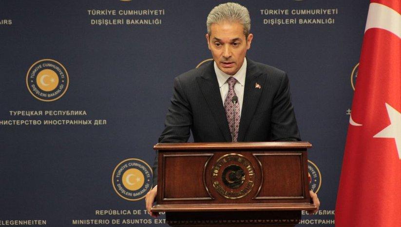 Dışişleri'nden Arap Ligi Genel Sekreterinin ifadelerine tepki