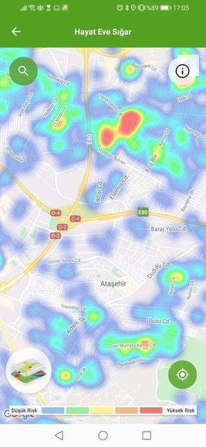 Koronavirüs haritası 17 Haziran 2020! İstanbul, Ankara, İzmir ilçe içe koronavirüs haritası