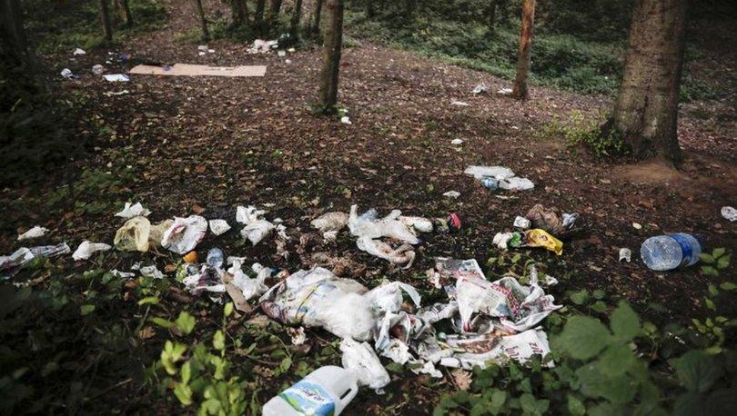 belgrad ormanı çöp yığınları