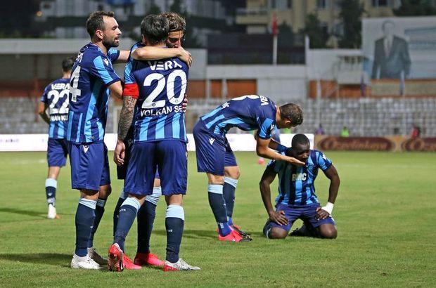 Adana Demirspor sahasında kazandı!