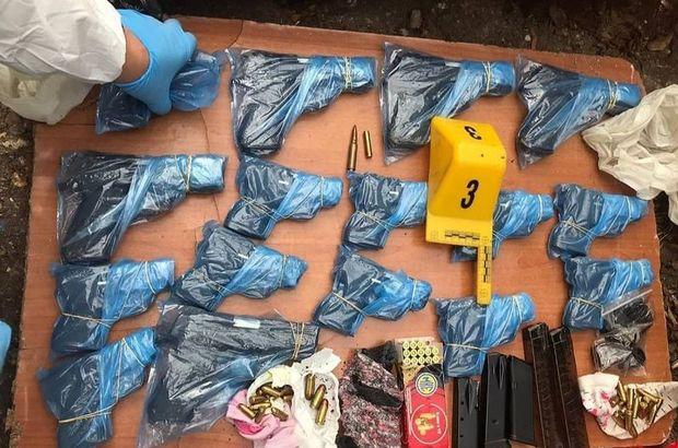 İzmir merkezli 4 ilde silah kaçakçılığı operasyonu