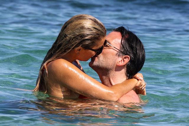 Sylvie Meis ile Niclas Castello tatilde aşka geldi - Magazin haberleri