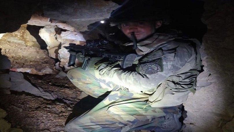 PKK'nın 150 metrelik mağarası bulundu