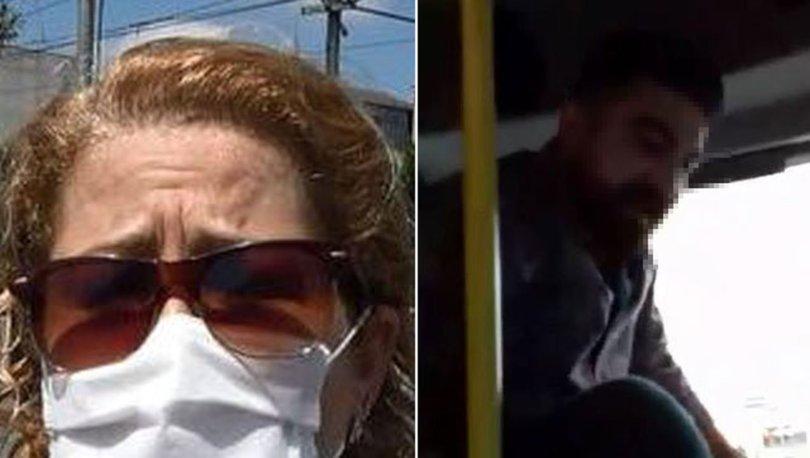 Maske takmayan minibüsçüye trafikten men
