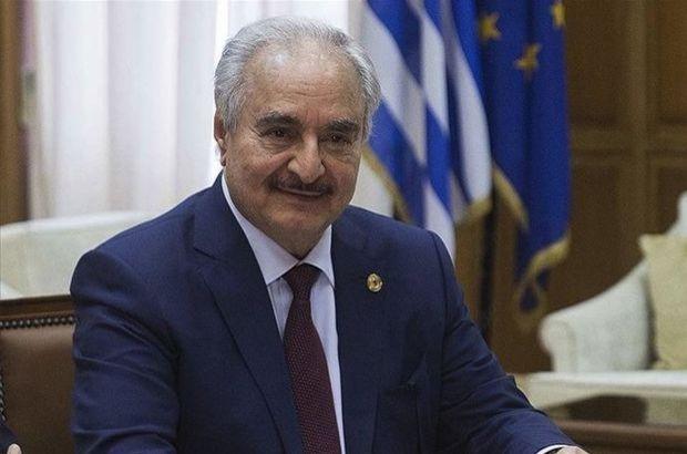Yunanistan'dan Hafter itirafı!