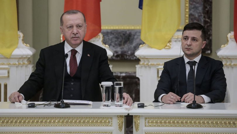 Son dakika haberleri! Cumhurbaşkanı Erdoğan, Ukrayna Cumhurbaşkanı ile görüştü!