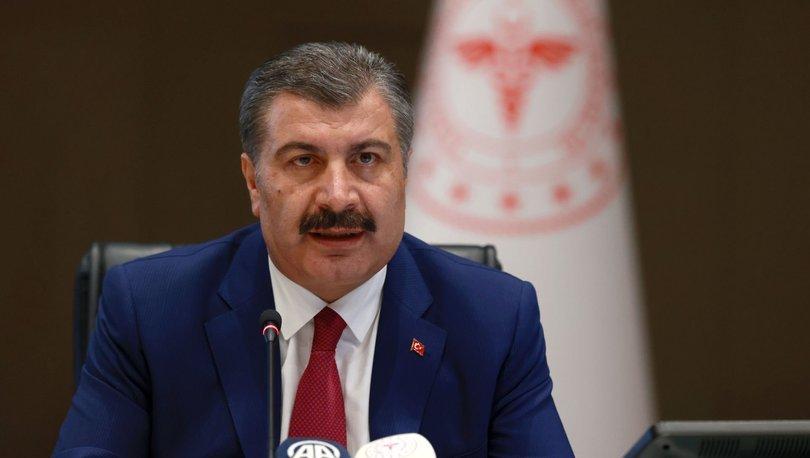 SON DAKİKA HABERİ! Sağlık Bakanı Koca'da koronavirüs salgınına ilişkin önemli açıklamalar