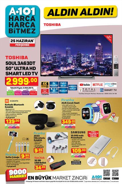 A101 25 Haziran aktüel ürünler kataloğu satışta! A101 indirimli ürünler listesi! A101 kataloğu