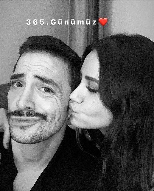 Ahmet Kural-Çağla Gizem Çelik çiftinden aşk dolu paylaşım - Magazin haberleri