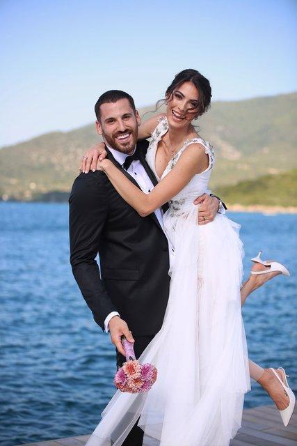 Ezgi Avcı ile Nemanja Djurisic evlendi - Magazin haberleri