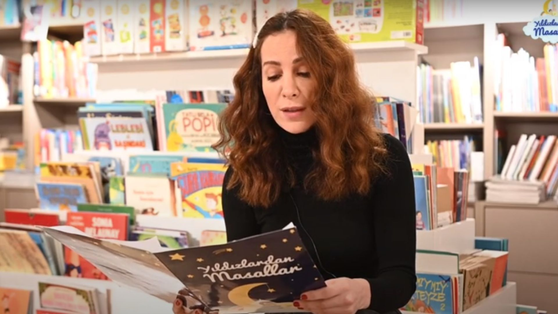 Fatma TOPTAŞ Polyanna masalını okuyor