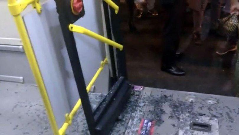 otobüse 'gelç geldin' saldırısı