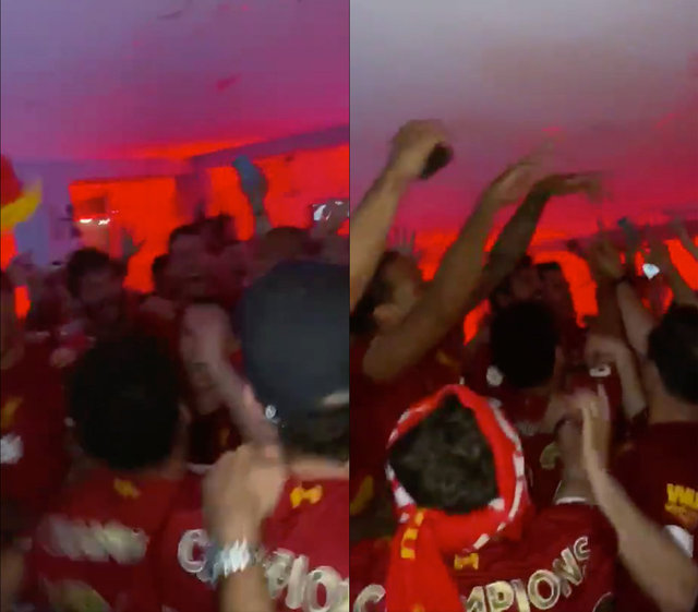 Jürgen Klopp sözünü tuttu! (Liverpool'un şampiyonluğu, Klopp'un gözyaşları)