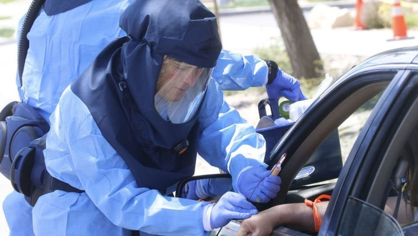 "ABD'de ""25 milyon enfekte"" iddiası"