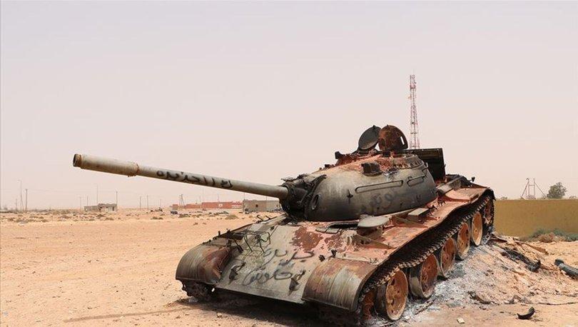Libya ordusu: Rus uçakları Sirte'ye asker ve silah taşıyor