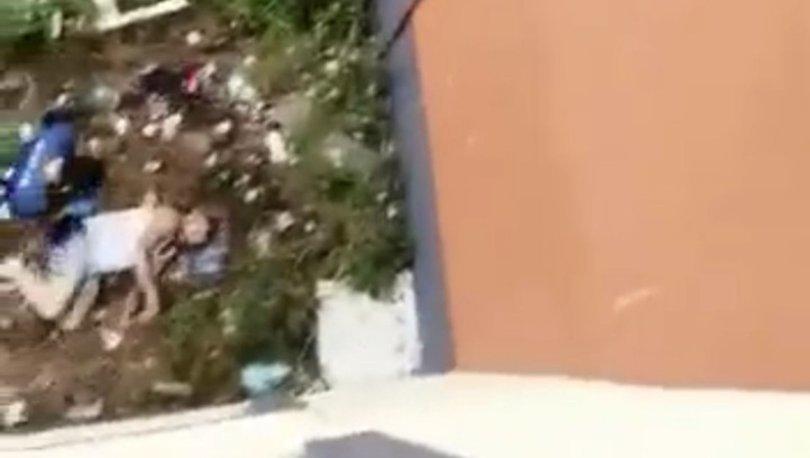 Son dakika haberler... Polisten kaçarken 3. kattan atlayıp belini kırdı!