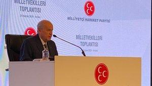Bahçeli'den 'Meclis Başkanlığı seçimi' açıklaması