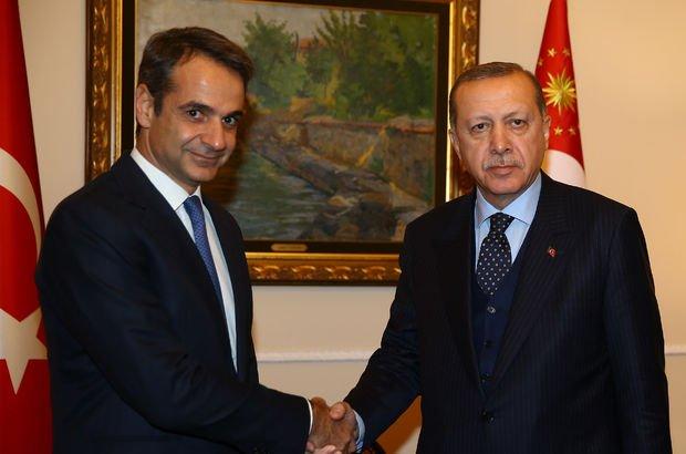 Erdoğan'dan, Yunanistan Başbakanı ile kritik görüşme!