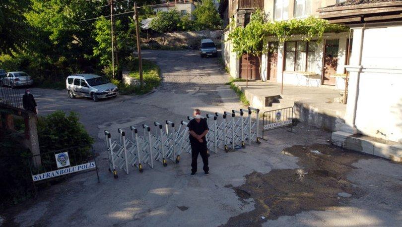 Safranbolu bazı cadde ve sokaklar 7 Temmuz'a kadar karantinada kalacak