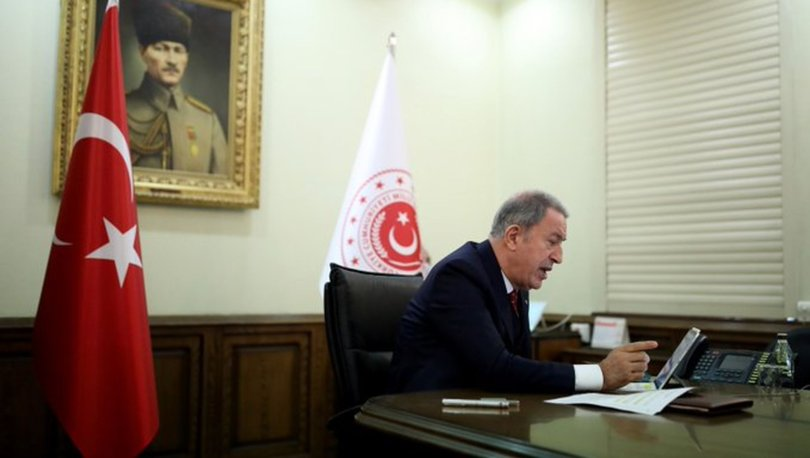Bakan Akar, NATO sekreteri Stoltenberg ile görüştü