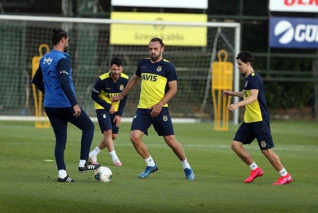 Fenerbahçe'nin Yeni Malatyaspor maçı 11'i
