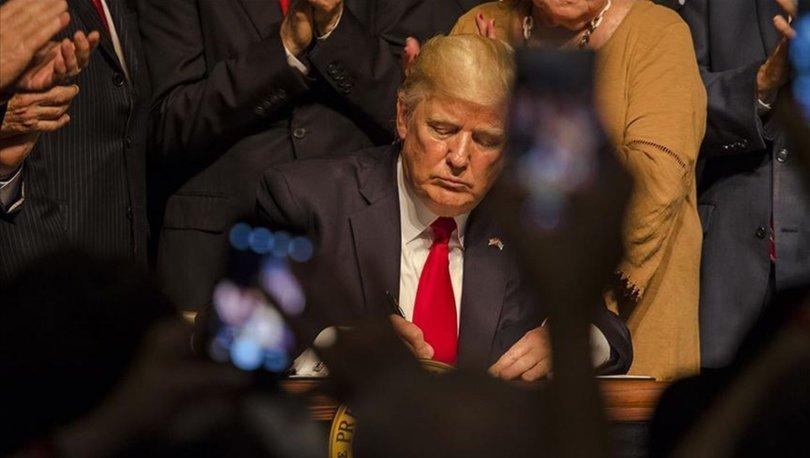 Trump'tan 'heykelleri koruma' kararnamesi!