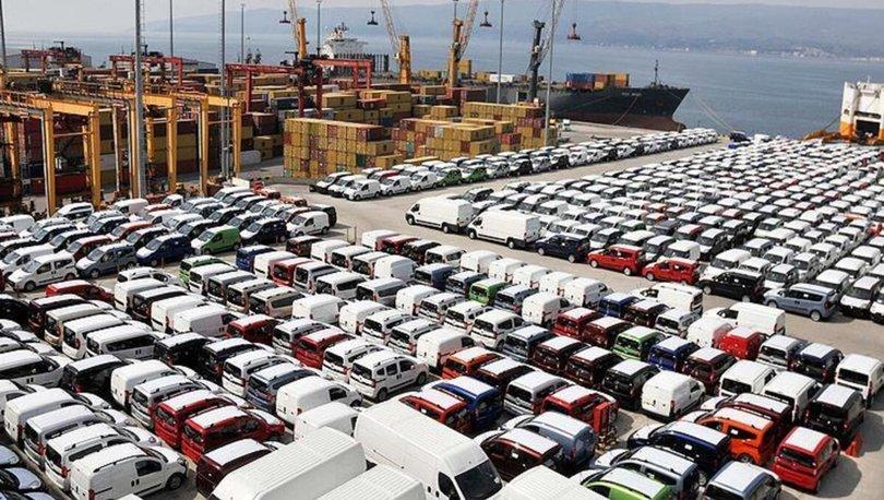 Sakarya'dan 5 ayda 68 bin 555 otomotiv ihraç edildi