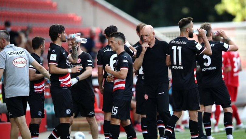 Kaan Ayhan ve Kenan Karaman'ın takımı Fortuna Düsseldorf küme düştü!