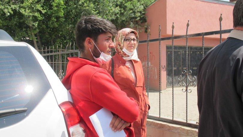 Nüfus cüzdanındaki fotoğraf sorunlu olan Bedirhan, geç kalınca sınava alınmadı