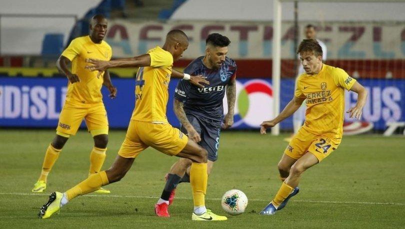Trabzonspor: 1 - Ankaragücü: 1 | MAÇ SONUCU