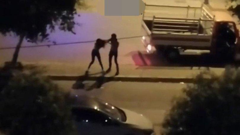 sokakta kadına şiddet