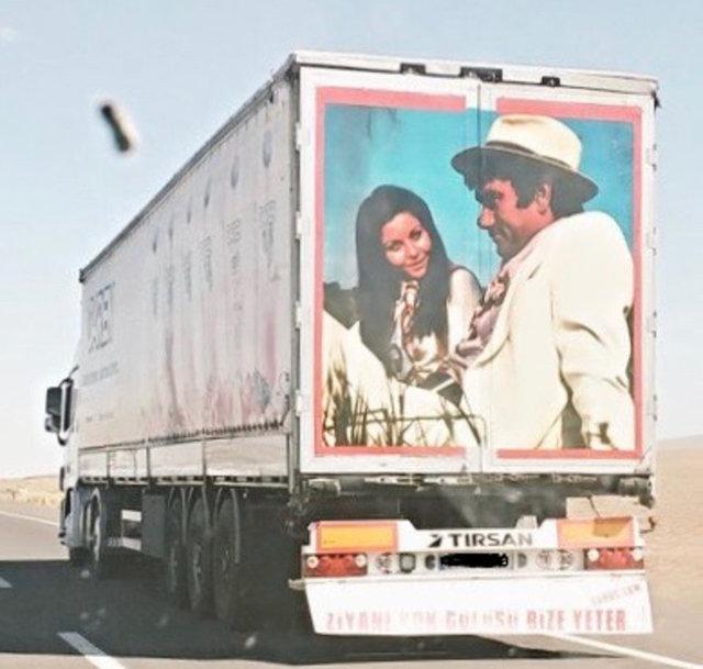 Yeni nesil kamyon arkası yazısı