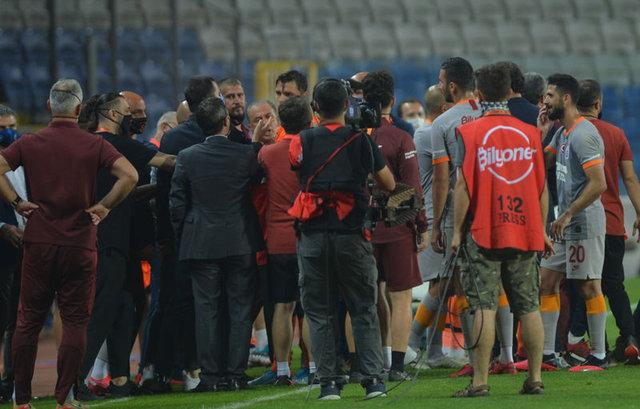 Başakşehir - Galatasaray maçının ardından gerginlik!