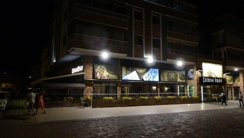 Edremit'te bir binaya 14 günlük karantina