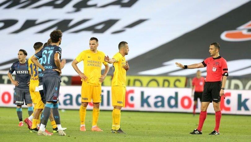 Trabzonspor, skor üstünlüğünü koruyamadı