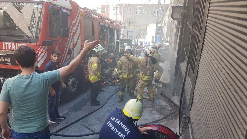 Son dakika haberler... Tekstil atölyesinde korkutan yangın!