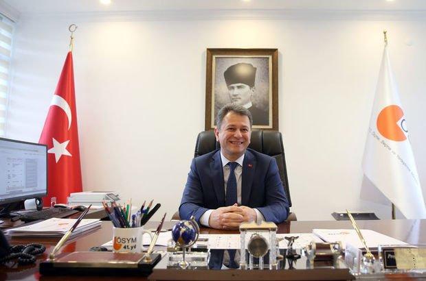 ÖSYM Başkanı Aygün'den açıklama