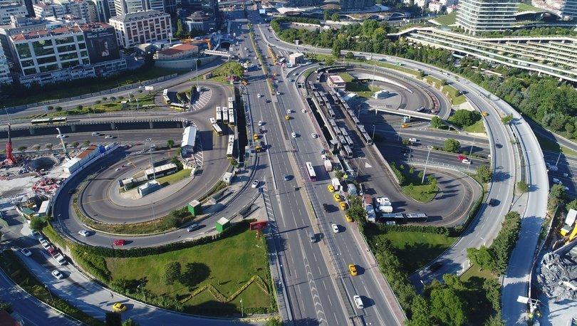 Son dakika haberler... Kısıtlama sonrasında İstanbul'da trafik yoğunluğu arttı