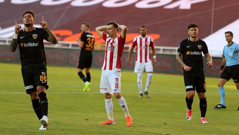 Sivasspor: 0 - Kayserispor: 2   MAÇ SONUCU
