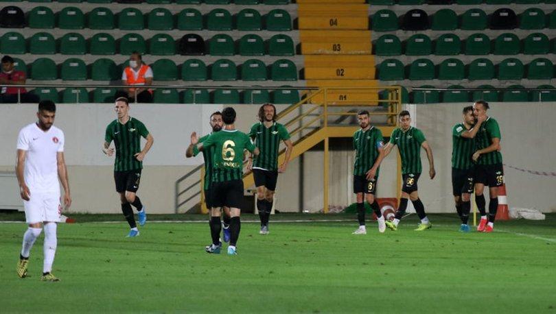 Gaziantep FK: 1 - FTA Antalyaspor: 1 MAÇ SONUCU