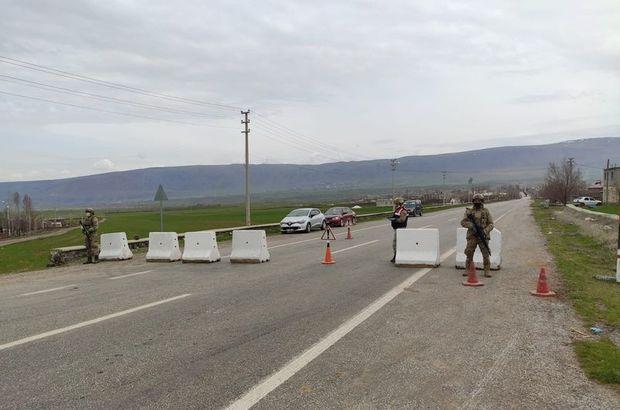 Bitlis'te 4 apartman karantinaya alındı