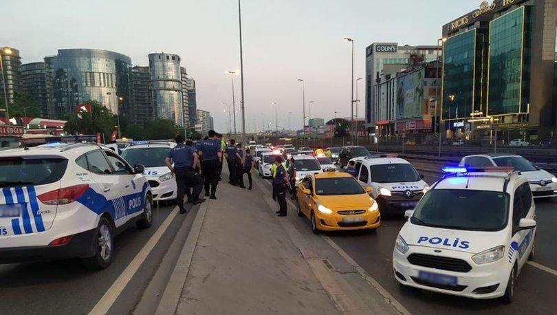 Bakırköy'de kaçırılan taksiciyi polis kurtardı: 5 gözaltı - HABERLER