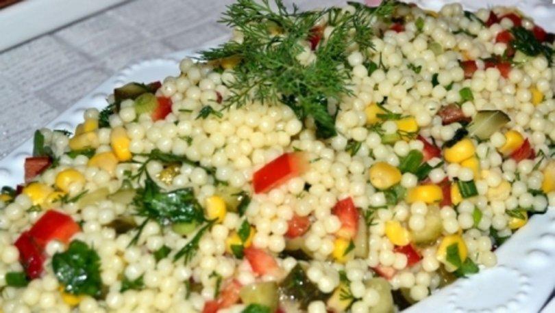Kuskus salatası tarifi, nasıl yapılır?