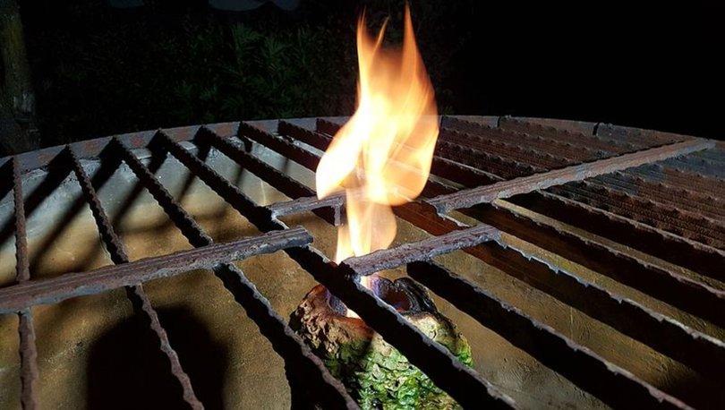 Kuyudan çıkan yanan su şaşırtıyor