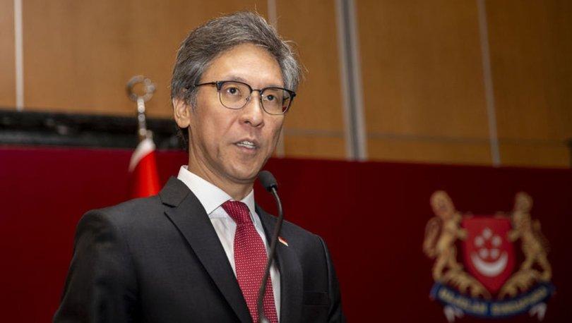 TBMM Başkanı Şentop, Singapur Büyükelçisi Tow'u kabul etti