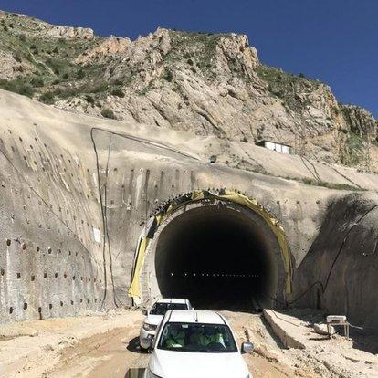 vauk dağı tüneli inşaatı